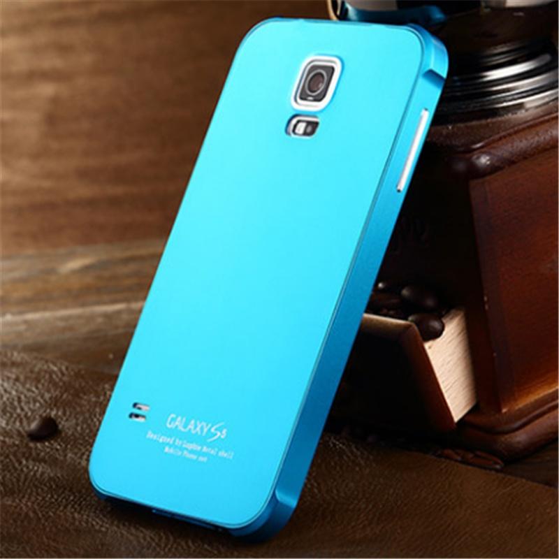 三星s5手机壳 i9600手机套 g9008v超薄金属边框后盖g9006v保护套 极致