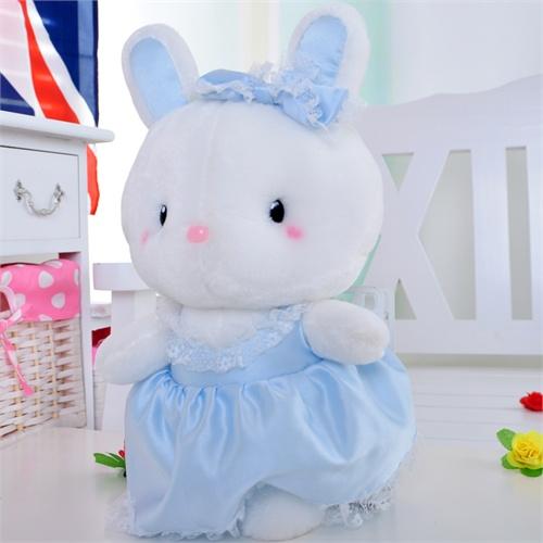 保蒂卡 公主兔芭蕾兔毛绒玩具兔子咪咪兔可爱新款生日