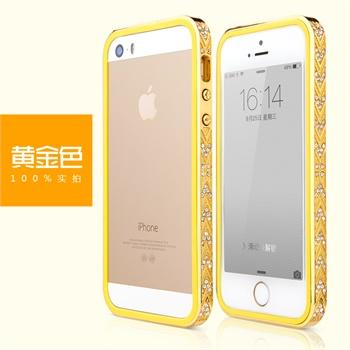 【品味工厂iphone5/5s璀璨钻石边框】mooke莫克