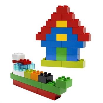 乐高得宝系列立体拼图1-3岁正品拼插积木玩具lego duplo大颗粒拼装