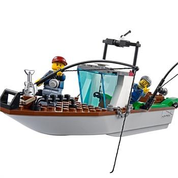 警匪海上大战,LEGO Coast Guard Patrol 60015乐高 城市系列 海岸警卫队巡逻