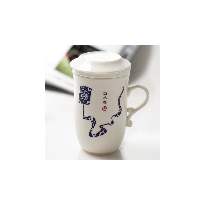 高档陶瓷杯子十二生肖图案