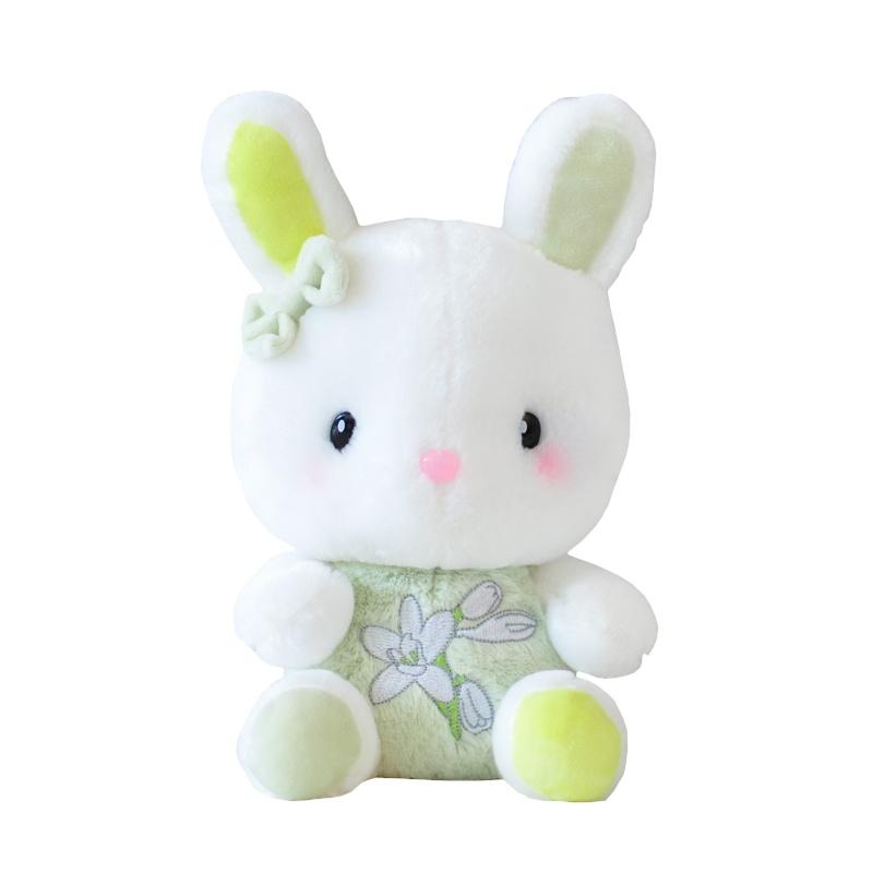 蓝白玩偶薰衣草小兔子可爱香味萌萌兔咪咪兔毛绒玩具