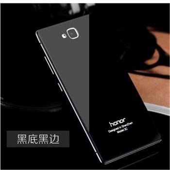 华为荣耀3c手机壳 荣耀3c手机保护套金属边框外壳