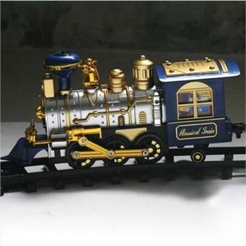 音乐托马斯轨道火车轨道车儿童玩具