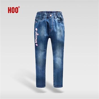 女童牛仔裤 中大童女孩修身小脚裤儿童裤子2013新款