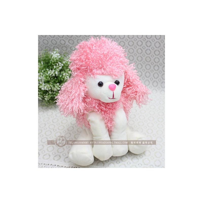 韩国文具 可爱卡通动物 毛绒小狗笔袋 铅笔袋 毛绒玩具 开学六一礼物