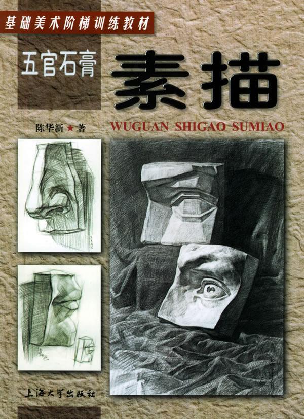 五官石膏素描――基础美术阶梯训练教材下载