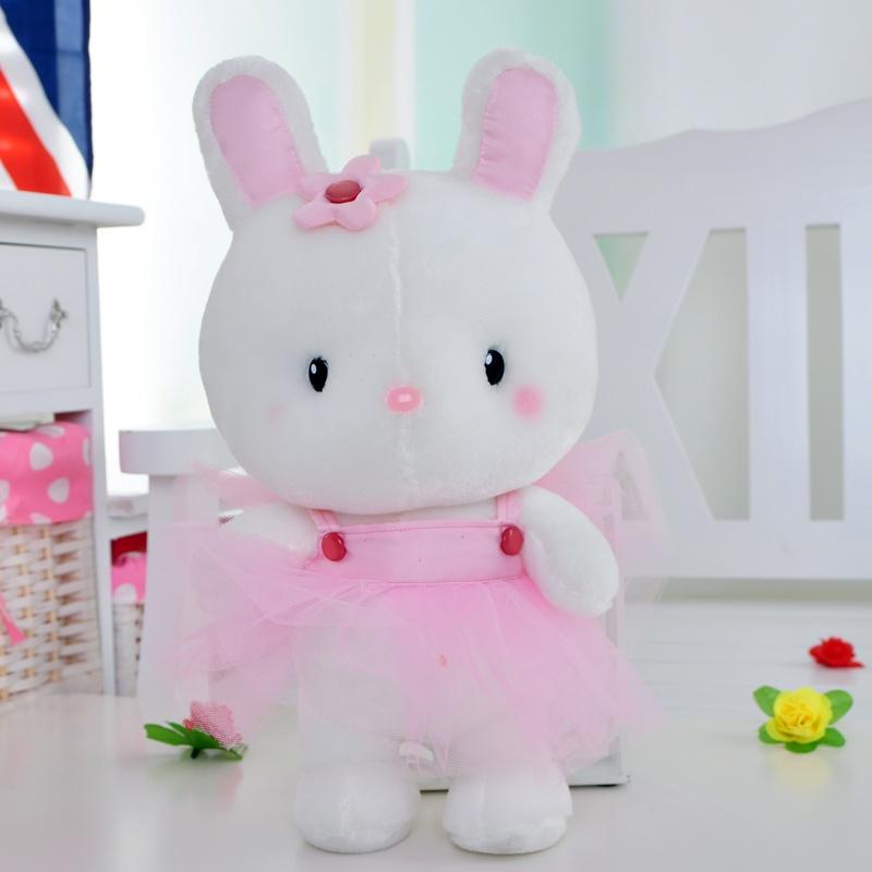 公主兔芭蕾兔毛绒玩具兔子咪咪兔可爱新款