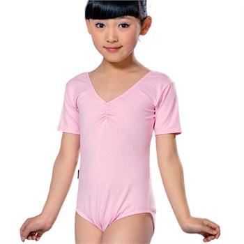 【梦之艺礼服/演出服】儿童舞蹈服装短袖练功服女童