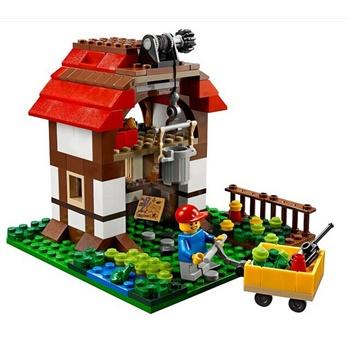 乐高31010房子拼装步骤图片