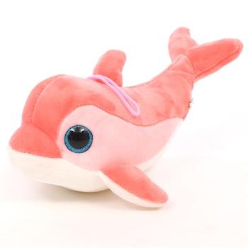 可爱海洋世界海豚公仔大号娃娃大眼海豚公仔 毛绒玩具抱枕靠垫创意