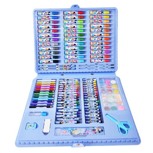 迪士尼画画套装美劳派小学生文具礼盒儿童绘画工具