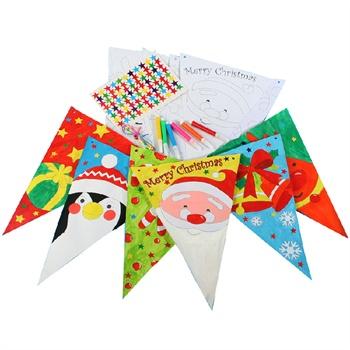 幼儿园手工diy制作材料包圣诞节礼物小鹿纸袋糖果袋装饰组合精美