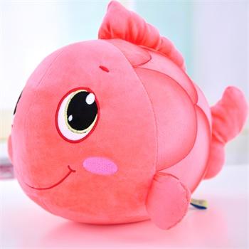 非常可爱的小鱼公仔