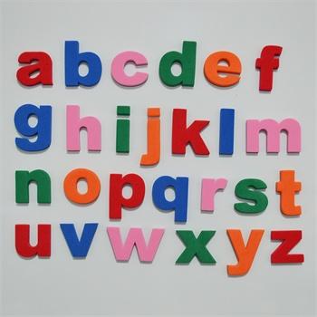 eva大小写英文字母磁性贴