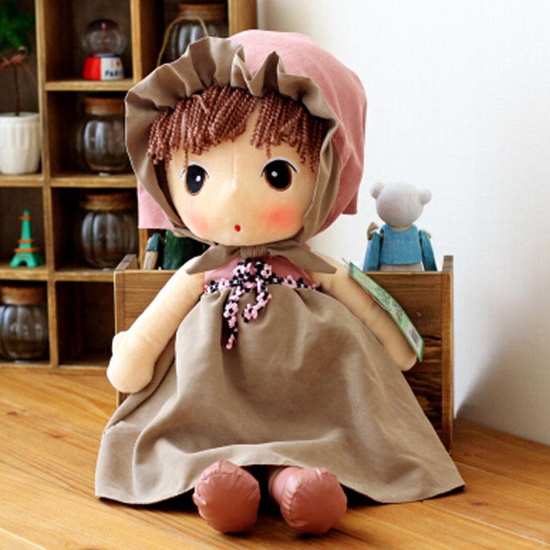 鑫诺 可爱洋娃娃毛绒玩具公仔布娃娃女孩童话菲儿生日礼物送女生_44