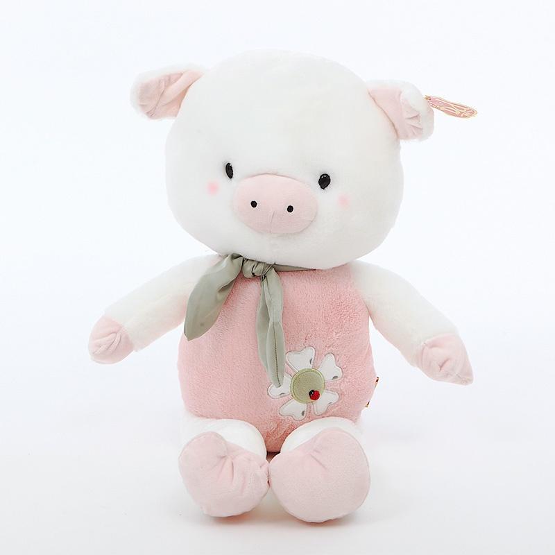春天猪抱枕毛绒玩具公仔可爱猪猪生日礼物七夕节礼物情人节礼物_60