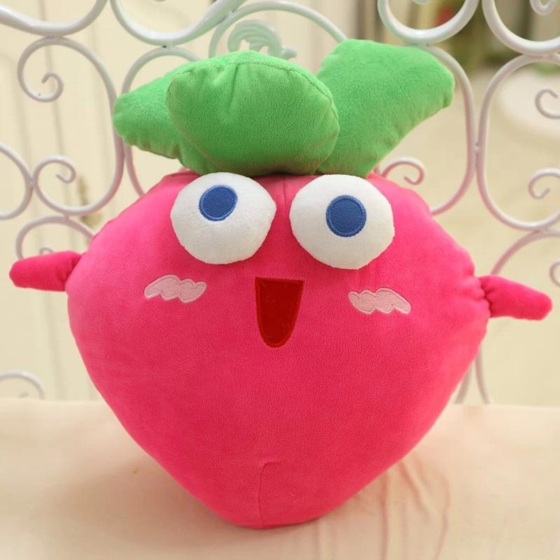 毛绒玩具可爱布娃娃公仔抱枕 创意生日礼物_大号65厘米红萝卜圆眼款