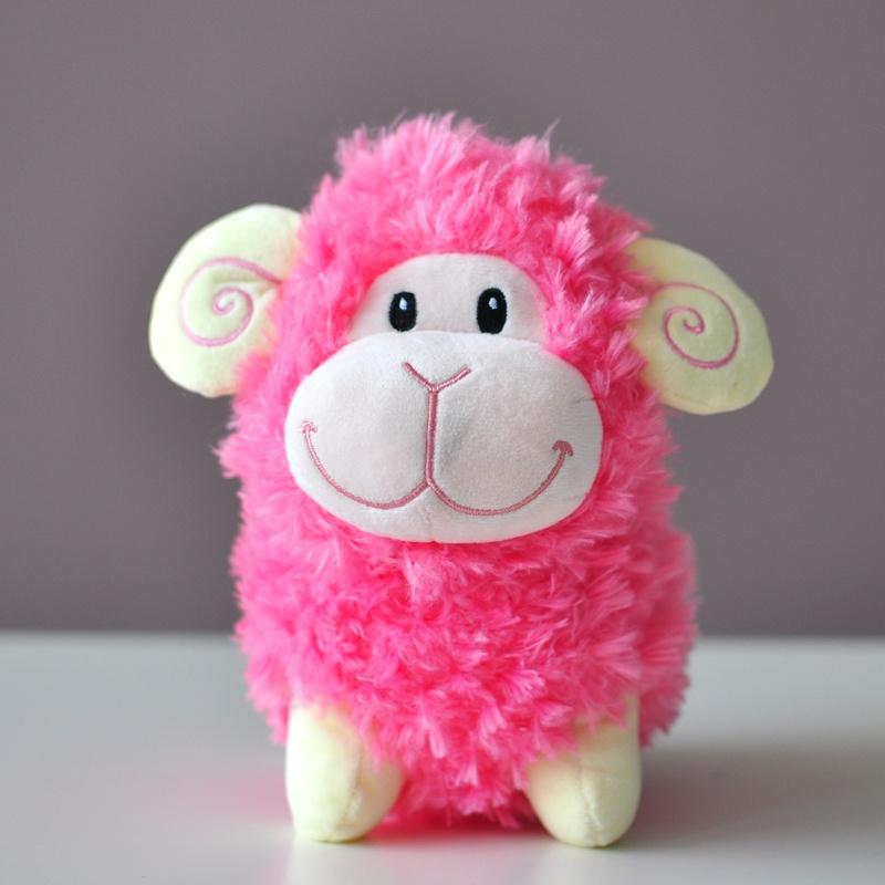 蓝白玩偶逸美羊驼公仔毛绒玩具生肖小绵羊羊玩偶布娃娃创意礼物 _20