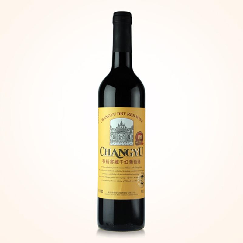 【张裕葡萄酒】张裕特选级窖藏干红葡萄酒(老门头)