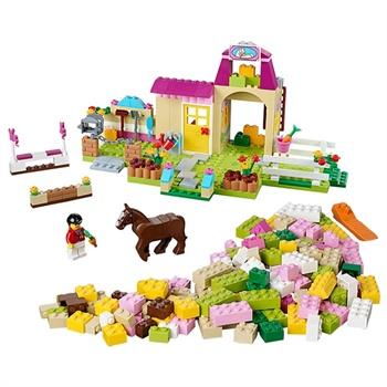 lego乐高益智积木小马农场儿童拼插玩具
