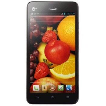 华为(HUAWEI)G606移动3G手机(黑色、白色)TD-SCDMA/GSM5英寸屏Android4.0.3系统双核1GHz处理器500万像素
