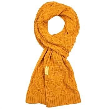 新款特惠韩国羊毛围巾春秋冬季保暖超长纯色双面毛线针织围脖男士_姜