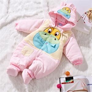 婴儿连体衣 冬季棉衣 宝宝外出服 加厚哈衣 保暖舒适