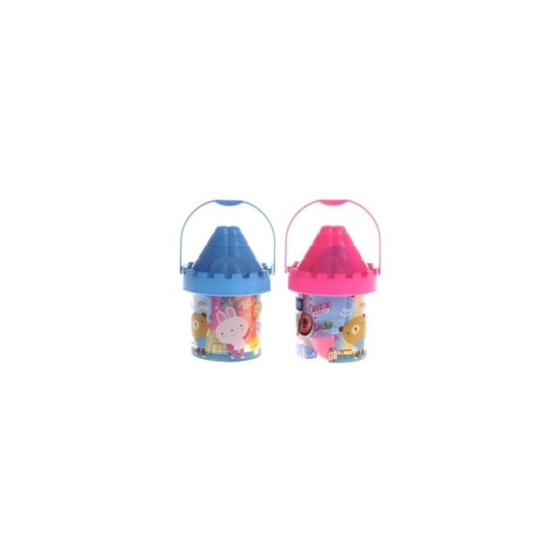 (支持货到付款)智高3d橡皮泥/6色城堡儿童手工益智彩泥/橡皮泥5022 3d