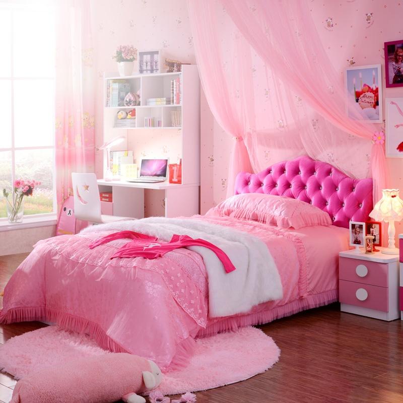 儿童家具 床 公主床