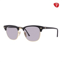 ray ban matte black clubmaster  raybanclubmasterrb3016