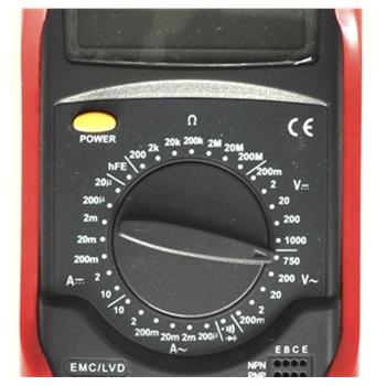 优利德数字万用表ut51 电压 电流 二极管 三极管万能表