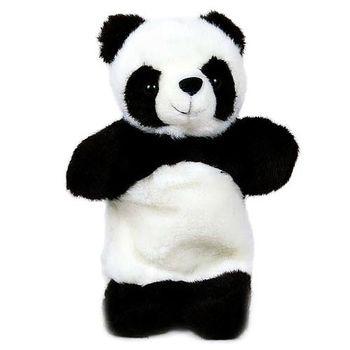 可爱小熊猫手偶