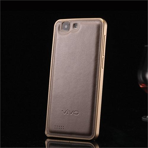 手机套vivo_酷玛特 vivox3l手机壳 步步高x3l手机套 vivo x3金属边框羊皮背板