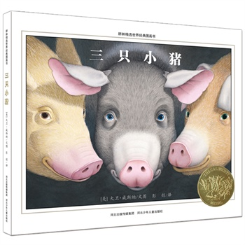 三只小猪(美国凯迪克金奖,颠覆经典重构新式想象空间,耕林童书馆出品)