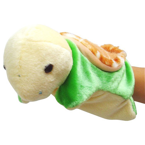 可爱小乌龟手偶(绿色)