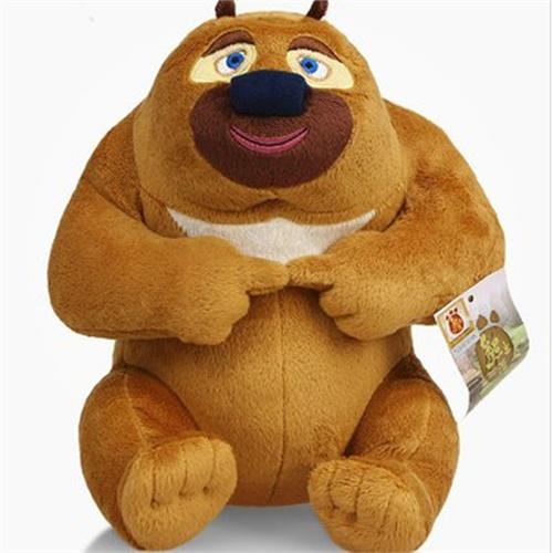 毛绒玩具 熊出没 儿童礼物 熊大 熊二 光头强 松鼠毛绒公仔