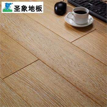 圣象 新實木復合地板f4星高環保na3208夏威夷祥云拉絲套 正品
