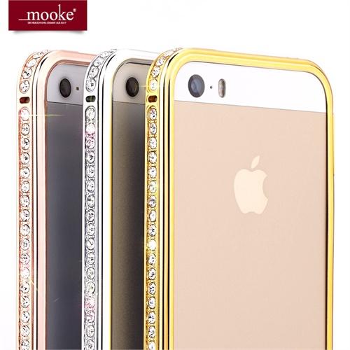 苹果iphone5/5s/4/4s钻石边框 航空铝合金边框 iphone5手机壳 苹果5手