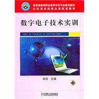 《数字电子技术实训》封面