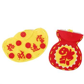 手工材料包春节新年手工新春红包手工制作儿童diy