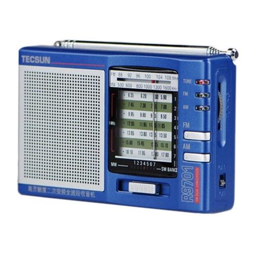 [当当自营] 德生 收音机 r9701袖珍式 高灵敏度 二次变频全波段