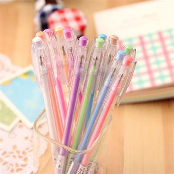 可爱创意中性笔水笔 diy手工涂鸦绘画笔韩国文具彩色中性笔