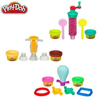 孩之宝正品 培乐多儿童橡皮泥玩具 糖果工具装 彩泥工具套装 生日礼物