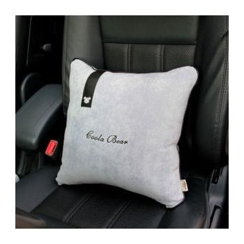 灰色简约商务 内装饰品车饰小套饰套装 汽车用品_四方抱枕