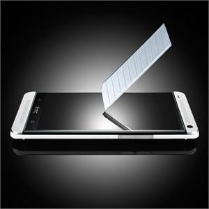 HTC ONE M7 钢化膜 HTC ONE 钢化玻璃膜 HTC ONE 802T/802W/802D防爆贴膜 防水(聚水滴功能) 防污 耐刮 高清 高效防指纹 进口纳米材料