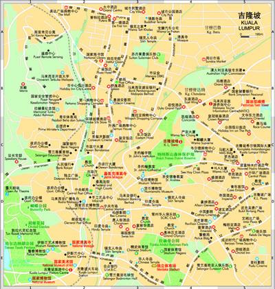 世界分国地图--马拉西亚 新加坡 文莱