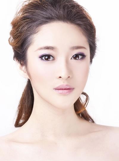 白纱新娘化妆与造型实例教程图片