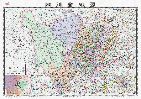 地图:四川省地图
